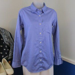 Periwinkle Blue Eddie Bauer Button Down Shirt